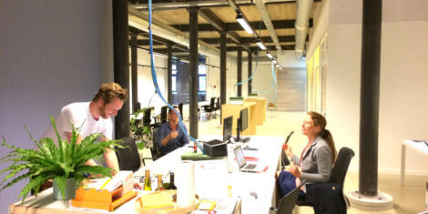 Happy co-working day